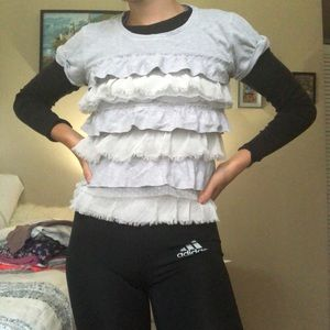 Hollister t shirt with layers